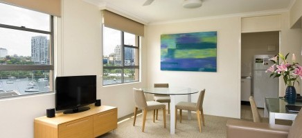 photo of inside a serviced apartment in Sydney