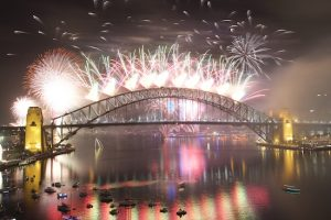 Sydney Harbour fireworks NYE