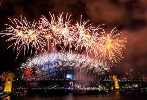 Sydney fireworks show